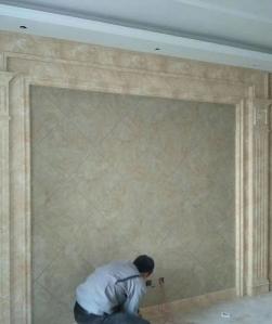 Uv装饰板材安装现场