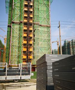 同德门窗附框厂家为徐州绿地项目提供附框型材!